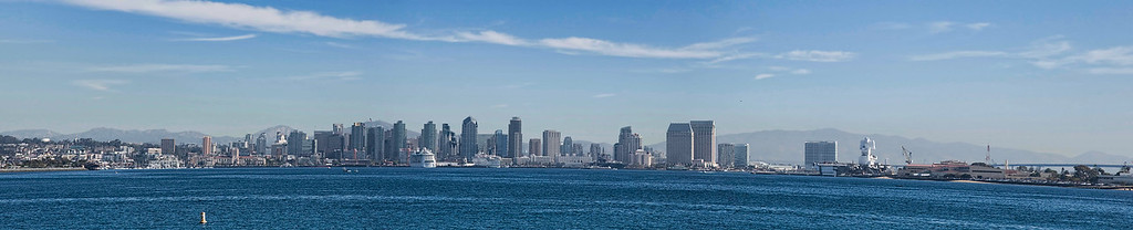 Project 365 Day 11  San Diego...  Processed with 4 raw files captured, HANDHELD.... ;) This photo is actually over 4ft long!